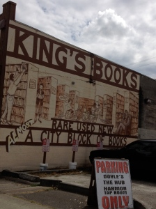 King's Books Mural