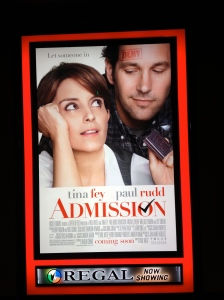 """Admission"" poster"