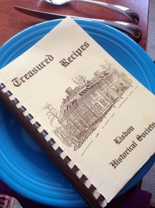 Lisbon Historical Society cookbook